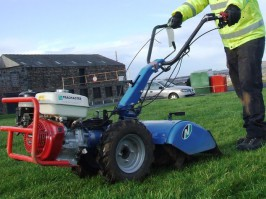 LARGE ROTAVATOR HIRE