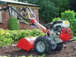 SMALL  ROTAVATOR HIRE