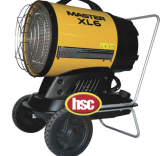 WORKSHOP HEATER HIRE