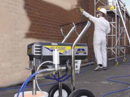 AIRLESS SPRAY MACHINE HIRE