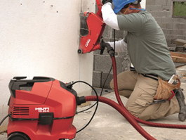 HILTI DCH300 DUSTLESS CUTTER HIRE