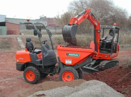 DIGGER AND DUMPER HIRE