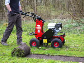 TURF CUTTER AND TURF LIFTER HIRE